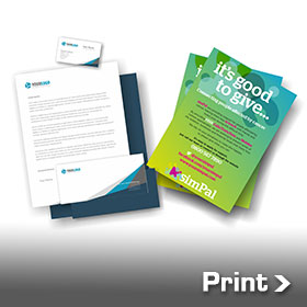 Image of Printed Business Cards Letterheads and Comp Slips and Printed Flyers