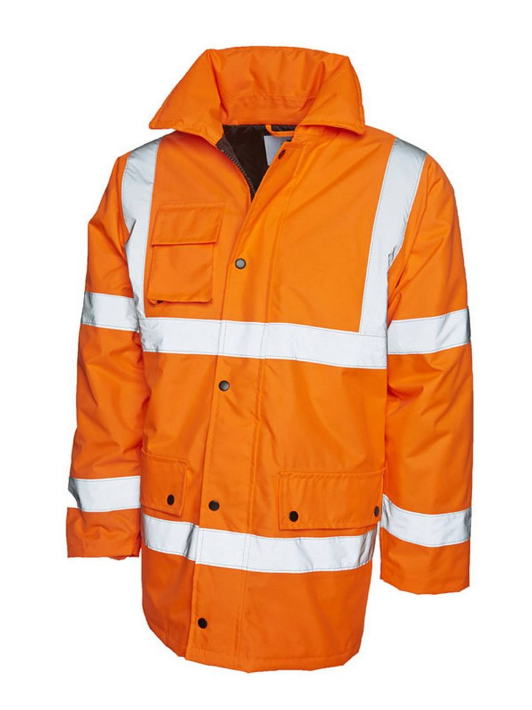 UC803 Hi-Vis Road Safety Jacket