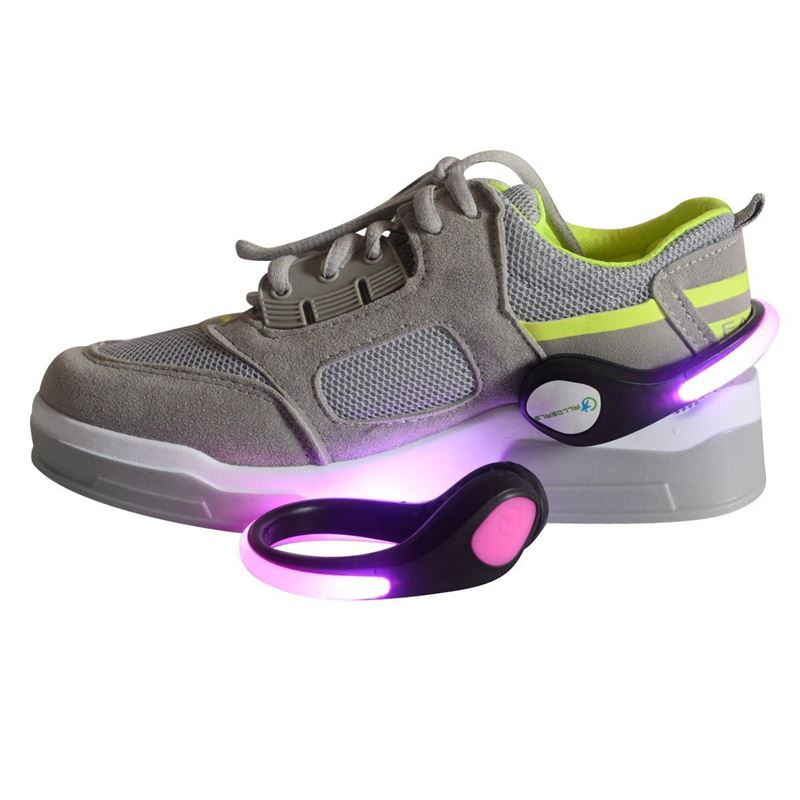LED Light Up Shoe Clip