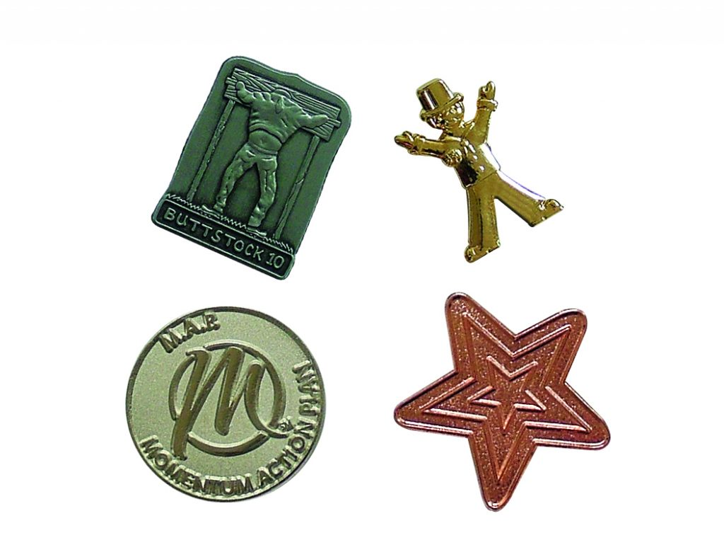 Metal Relief Badges