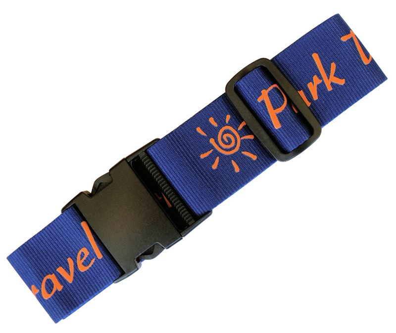 Printed Luggage Straps