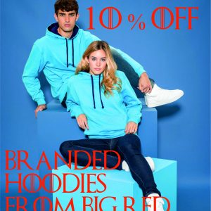 10% Off all Hoodies