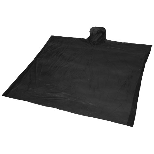 Ziva disposable rain poncho with pouch