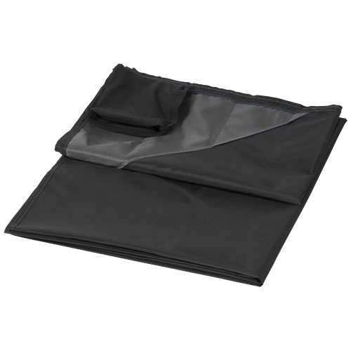 Stow and go water-resistant outdoor blanket