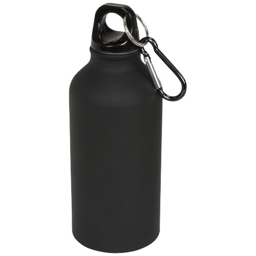Oregon matte 400 ml sport bottle with carabiner