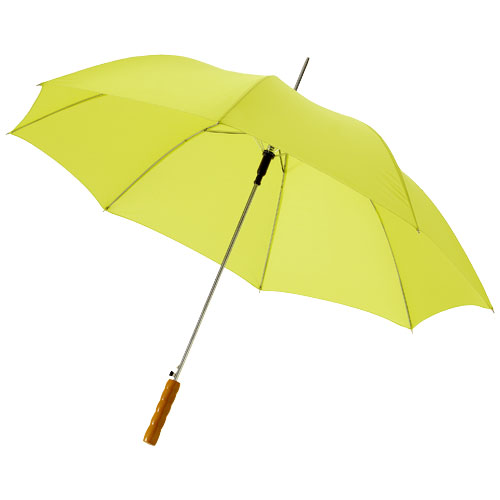 Lisa 23'' auto open umbrella with wooden handle
