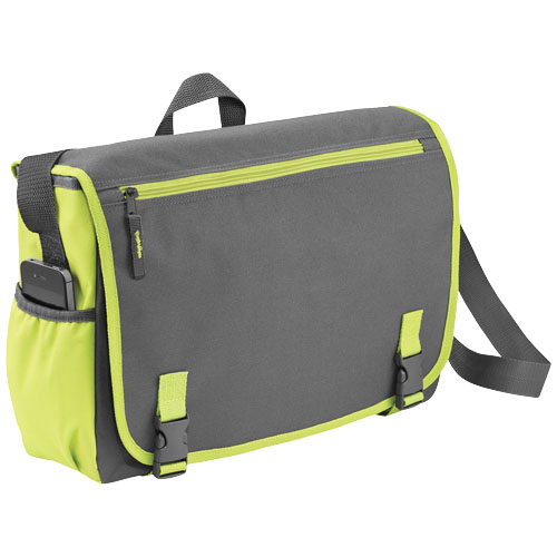 Punch 15.6'' laptop messenger bag