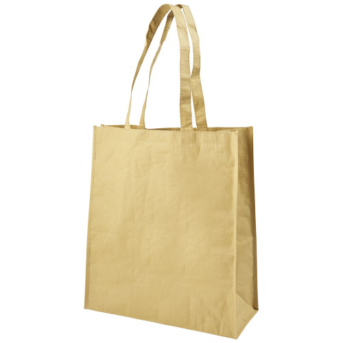 Papyrus paper-woven tote bag