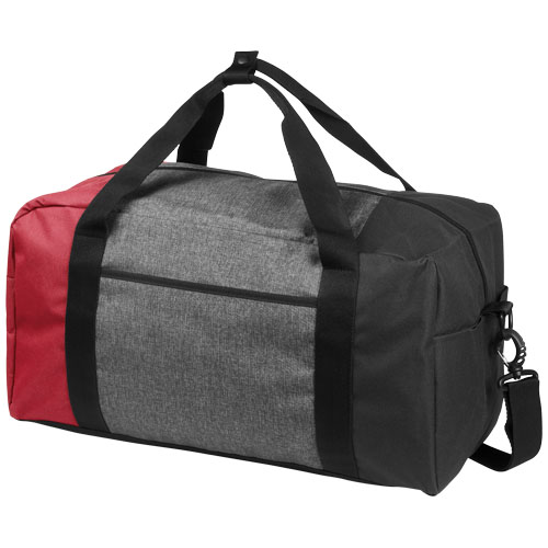 Three-way colourblock 19'' duffel bag