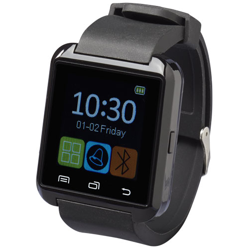 Brains Bluetooth® smartwatch with LCD touchscreen