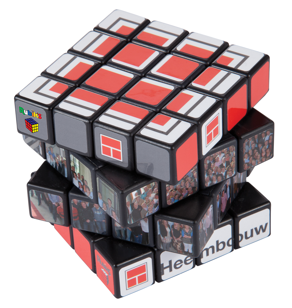 rubik 39 s 4 x 4 cube big red branding. Black Bedroom Furniture Sets. Home Design Ideas
