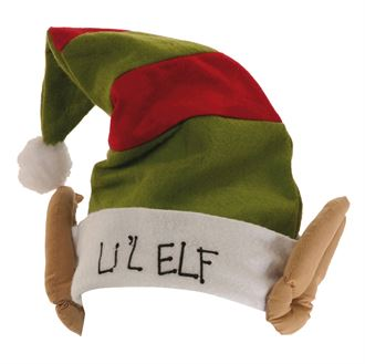 e6248d25cb1 Lil elf hat with ears - Big Red Branding